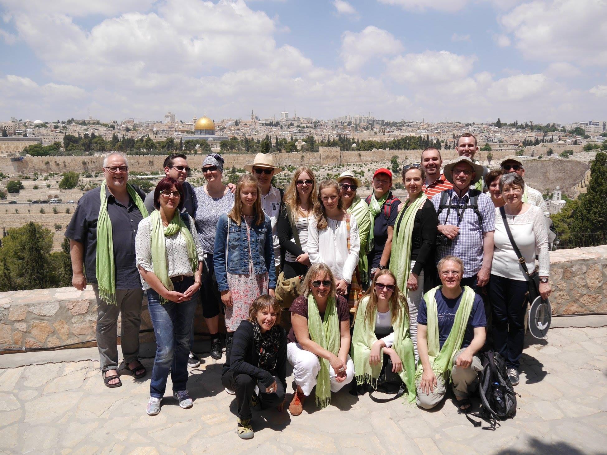 Unvergessliche Eindrücke: Familien Auf Pilgerreise Ins Heilige Land