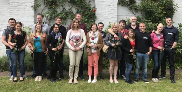 Junge Paare vor der kirchlichen Hochzeit in Dillingen